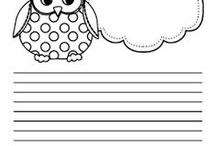 Cute Writing Papers for Kids
