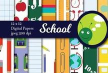Digital Background Papers for Teachers / The cutest digital papers for teschers & TpT Sellers