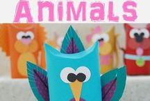 Animal Theme Crafts & Activities