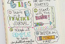 Ideen für mein Bullet Journal