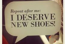 Walking in my shoes....
