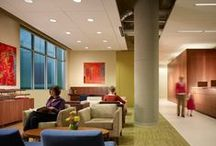 +Positive spaces | Healthcare / +Positive spaces strengthen well-being through comforting interior design elements. See how hospitals, pediatric clinics and assisted living facilities are refurbished through modern floor designs.