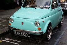 Cinquecento / Fiat 500s...the best little cars in the world. / by Becca  Capri
