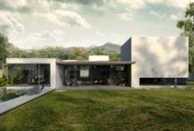 Yucatan House - RNDR Studio / Yucatan House by Isay Weinfeld   Interior & Exterior Rendering