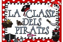 Projecte pirates / Materiales para trabajar los piratas fichas, imágenes, de todo / by Carmen Ferrer