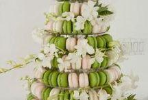 Macaron Wedding Towers and Cakes / Inspiration for weddings