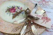 Vintage Wedding Tea Parties / All things vintage - food, drink and displays