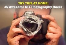 DIY Photography Hacks / Fun and inexpensive projects that photographers can use to save money and get amazing results.