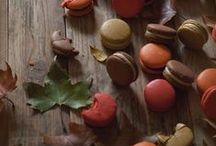 Autumn Macarons / Colours and flavours
