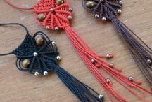 Bijoux en macramé, tissés / #bijou# #bijoux# #bracelet# #bracelet en macramé# #bracelet tissé# #bracelets#