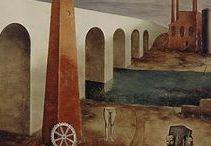 American Magic Realist Painter O. Louis Guglielmi (1906-1956)