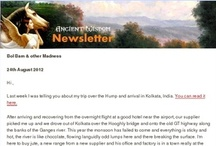 Newsletter, like no other! / Every Friday a newsletter, like no other. More of travel blog or a theological ramble