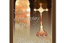 Religious Profession Anniversary Cards