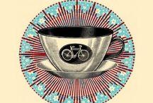 Coffee & bikes / Koffie en fietsen, de perfecte combinatie!