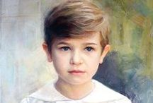 PAINTINGS OF CHILDREN / by Marylin Funchess