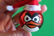 Um Pouco Natal / Fotos, decorações, DIY, tutoriais, etc..