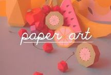 Paper Art / This board will contain: paper art, paper sculpture, paper craft, paper cut, quilting, craft paper, paper cutting art, graphic design, paper flowers, architecture, portraits, installations, pop-up, miniature, mask, abstract, origami.