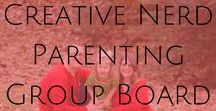 Creative Nerd Parenting Group Board / Hi! Welcome to the Creative Nerd Parenting Group Board, where we all talk about Parenting, Being A Nerd, DIY/Homeschool, and Food.  To join, please follow me and this board, then send your request to nerdmomwithablog@gmail.com. Rules: Please be kind and support each other.  Re-pin one pin for every pin you post.  Vertical pins ONLY.  I will create a section for each topic, so please post your pin to the section where it belongs. Also, please do not make any changes to this board!  Thank you!