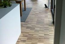 Houtzwagers Blokvloer Collectie / Een low-budget, levendige, massief eiken vloer.