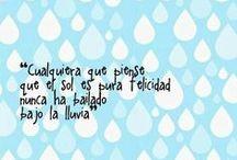 LLuvia ☁☔ / El sonido d la lluvia no necesita traducción... / by Anchonia Castillo López