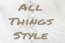 All things style / The perfect outfit for every ocasion and just beautiul clothes, that will inspire your daily life.