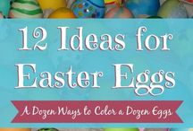Eggscellent Ideas for Easter Eggs / Festive ideas for all things related to Easter Eggs. / by Kenarry: Ideas for the Home