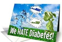 Children's Diabetes / For kids diagnosed with or living with #diabetes - encourage and support them with these #DiabeticTips and #GreetingCards.