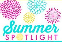 Summer Spotlight / The Summer Spotlight is a collaborative effort to showcase great ideas from a different talented blogger each Friday throughout the summer months including recipes, crafts, DIY, home decor and more! / by Kenarry: Ideas for the Home