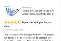 Ovonni Brushes Reviews / All reviews from our customers. Thanks you guys.