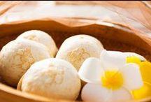 くがにやあ まんじゅう / 伊計島産の黄金芋を、沖縄県うるま市産の山芋「ヤマン」で包みました!