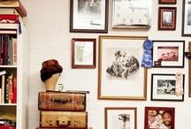 Decor ideas: Photos / Como decorar con fotos, marcos...