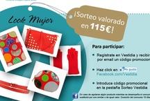 Concursos y Promociones / Vestidia te muestra todas las promociones y sorteos a los que acceder para conseguir fantásticos premios.