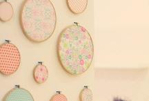 Decor ideas: Embroidery hoops