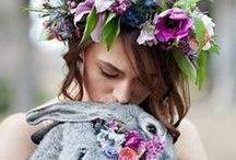Ostara / Ostara is a pagan holiday that honors Ostara, Goddess of the Dawn, a Teutonic/Saxon maiden, lunar, and fertility goddess. She is also known as Eostre and Eastre. Ostara personifies Spring. Her name and principle symbols, the hare and egg, were later incorporated into the Christian celebration of Easter.  / by Ariella Moon