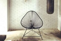 Acapulco chairs indoors and outdoors