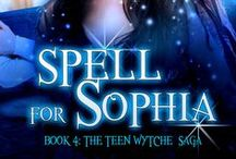 Spell for Sophia / Sophia Perez-Hidalgo's survival depends upon her mastering magic and the supernatural before her lawless parents and their vengeful boss catch up to her. Sophia runs until she's out of stolen money, then…Fate delivers her into the arms of Louisiana teen Shiloh Breaux Martine, and his grand-mère, a reclusive voodoo priestess living deep in the bayou. Spell For Sophia, Book # 4 of the Teen Wytche Saga by Ariella Moon is a paranormal Young Adult Romance with a time travel twist. / by Ariella Moon
