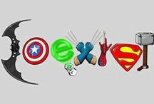DC and Marvel / Coexist between the universes. / by Cosette McCullough