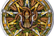 Lammas/Lughnasadh / Lammas/Lughnasadh is the first of three Celtic harvest festivals. It celebrates the grain harvest. Make bread. Rejoice. Give thanks. #wheeloftheyear #pagan #pagansabbats http://www.AriellaMoon.com / by Ariella Moon