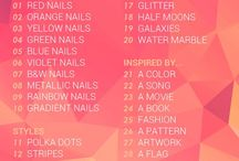 31 Day Nail Art Challenge 2014 / A collection of my manicures for the #31dc2014