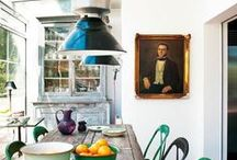 Paintings in interiors