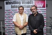 WWI Masterclass with Sanjay Leela Bhansali / It was our pleasure to have Mr. Sanjay Leela Bhansali to conduct a WWI Masterclass with WWI Students. At the session, he shared great details and interesting snippets on the use of colours and sound in his films. He also shared his experience and knowledge of striking a cordial actor-director relation, as a filmmaker.