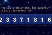 #CEOSleepOutZA Johannesburg 2015 / The 702 Sun International CEO Sleep Out raising awareness & funds for the homeless.