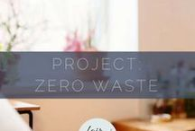 Project: Zero Waste / Cleaner living! We don't have to produce the amount of garbage we do. Here are tips to make a smaller footprint.