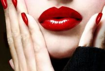 Beauty of Red lips