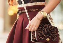 a la fashion