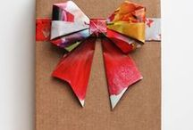 Gift Ideas / Ideas for gift giving, and gift wrapping.