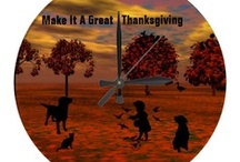 * THANKSGIVING TRADITIONS, FUN. DECOR, / Most FOOD IDEAS are on the FALL FOODS BOARD.... / by Dandy Mariella