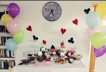 Alice in wonderland tea party / Party ideas