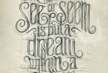 typography / by Tara Borger