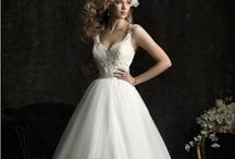 A-line Wedding Dresses / A line wedding dress is very popular among brides. A line bridal gown with straps shows your elegance. We offer many kinds of a-line wedding dresses. They are cheap and beautiful. / by bridal fashion